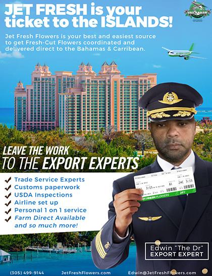 Jet Fresh ticket to islands